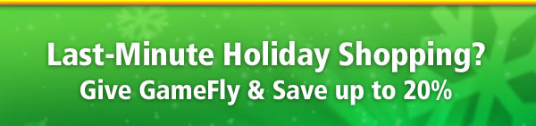 GameFly Gift Certificates Up To 20% Off